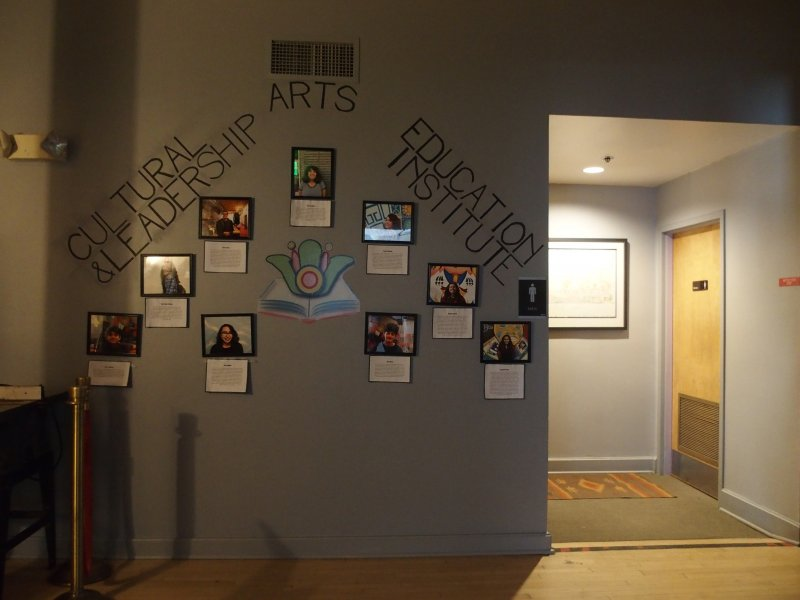 Gallery Entry/Restrooms