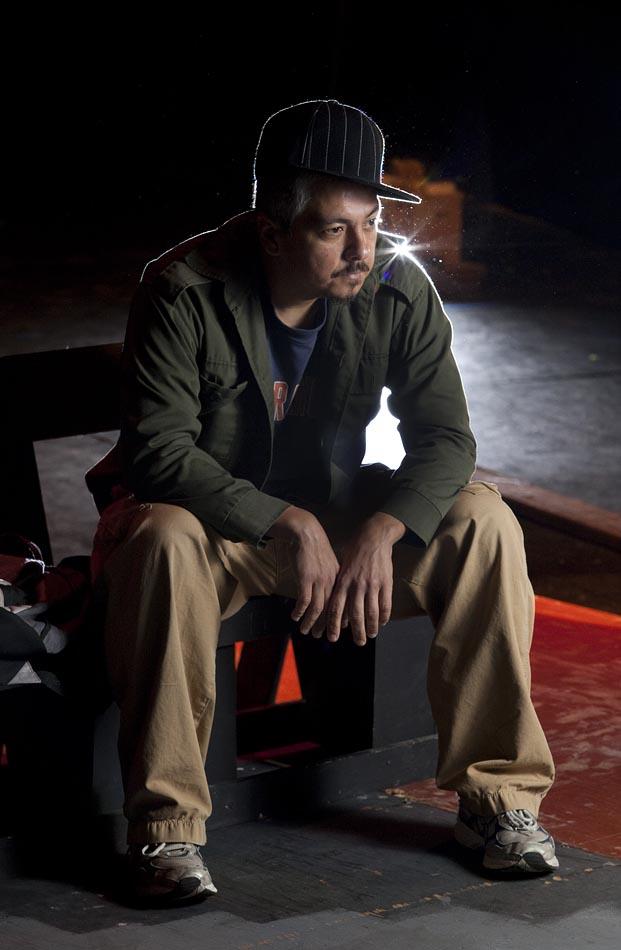Ruben C. Gonzales in La Esquinita USA - Photo by David Royal