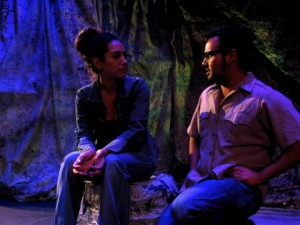 Scene from Summer 2014 production of Cuarenta y Ocho (48).