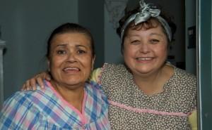 Yolanda and Debra