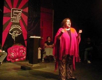 Yolanda Ortega - Lalo Delgado Tribute - Neruda Poetry Fest